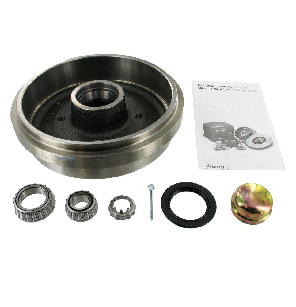 SKF VKBD 0148 Kit premontado de rodamientos para rueda y freno de tambour VKBD0148