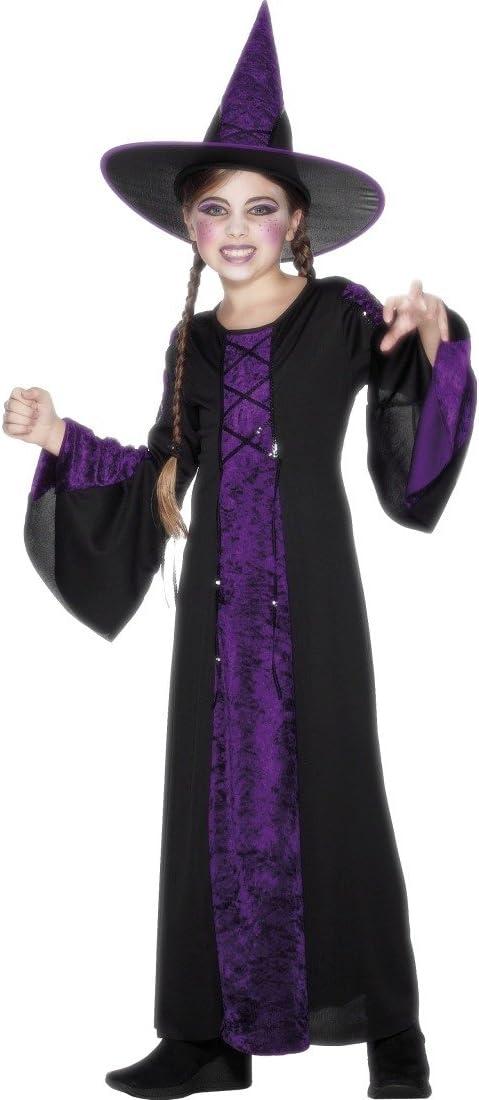 Disfraz de Disfraces de Brujas para niños Sombrero Bruja Halloween ...