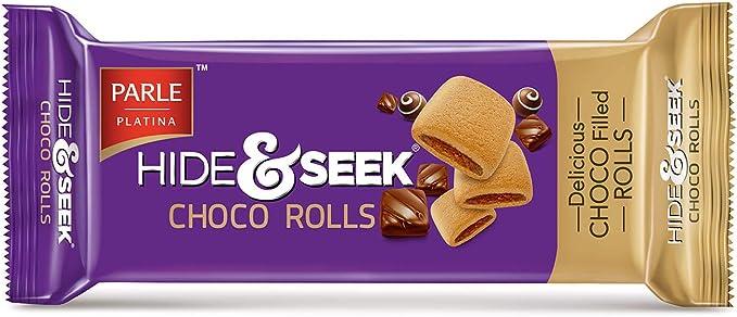 Parle Hide and Seek Choco Rolls, 75g
