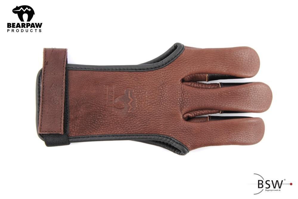 Bearpaw Deerskin Shooting Gloves