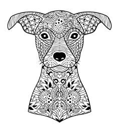 Amazon.com: Dog Lover: Adult Coloring Book: Best Coloring
