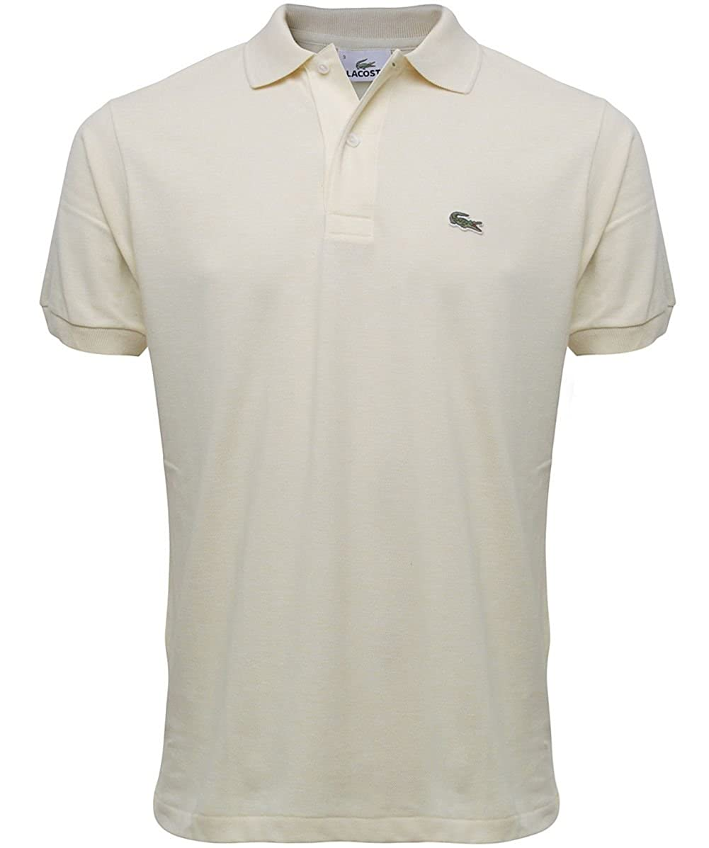 Lacoste Camisa de Polo L.12.12 Marga Yellow: Amazon.es: Ropa y ...