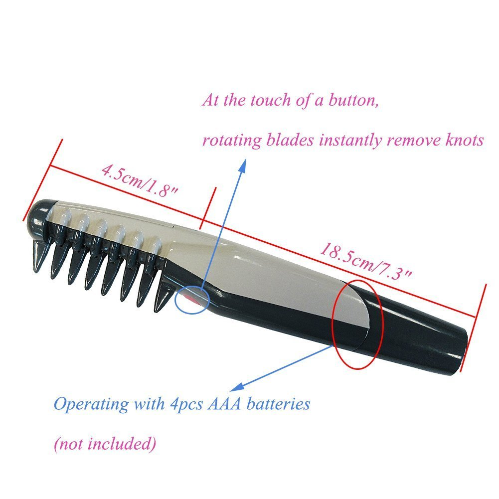 YAKASO Knot Out Electric Pet Grooming Comb Remove Knots and Tangles