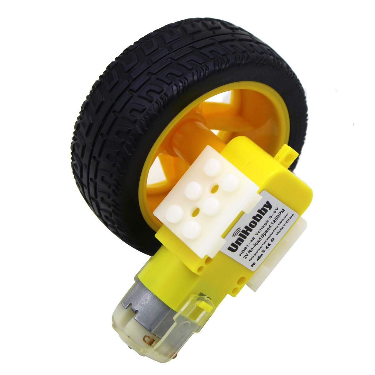DC3V-6V DC Geared Motor TT For Robot Smart Car Chassis DIY Anti-interferen