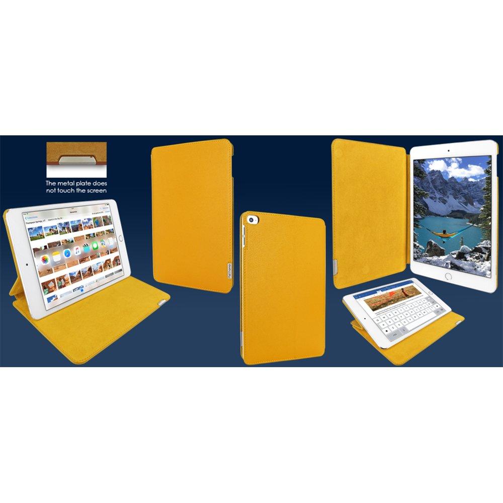Piel Frama ''FramaSlim'' Leather Case for Apple iPad mini 4, Yellow (723Y)