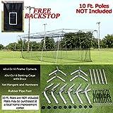 Select #24 Batting Cage & Frame Corners (40')