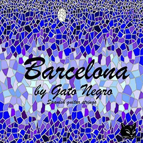 Juego de cuerdas Gato Negro Barcelona para guitarra clásica ...