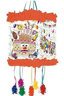 Miguelañez Piñata Celebración 8 Niños - 640 gr: Amazon.es ...