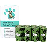 Earth Breath Dog waste bags easy to open no-leak bottom extra thick no artificial scent added