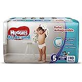 Huggies All Around Pañal Desechable para Bebé, Etapa 5 Unisex, Paquete con 40 piezas, Ideal para bebés de 11 a 14.5 kg