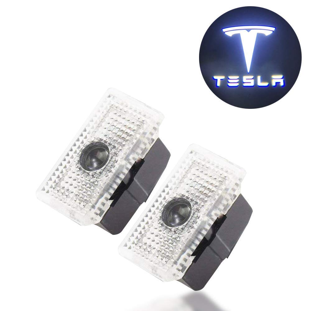 2 Pack Flyox Car Door LED Lighting Entry Ghost Shadow Projector Welcome Lamp Logo Light for ACURA Series