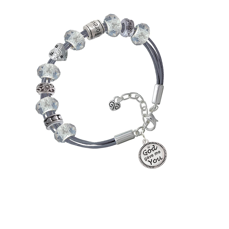 god gave me you love forever mothers day bracelet low