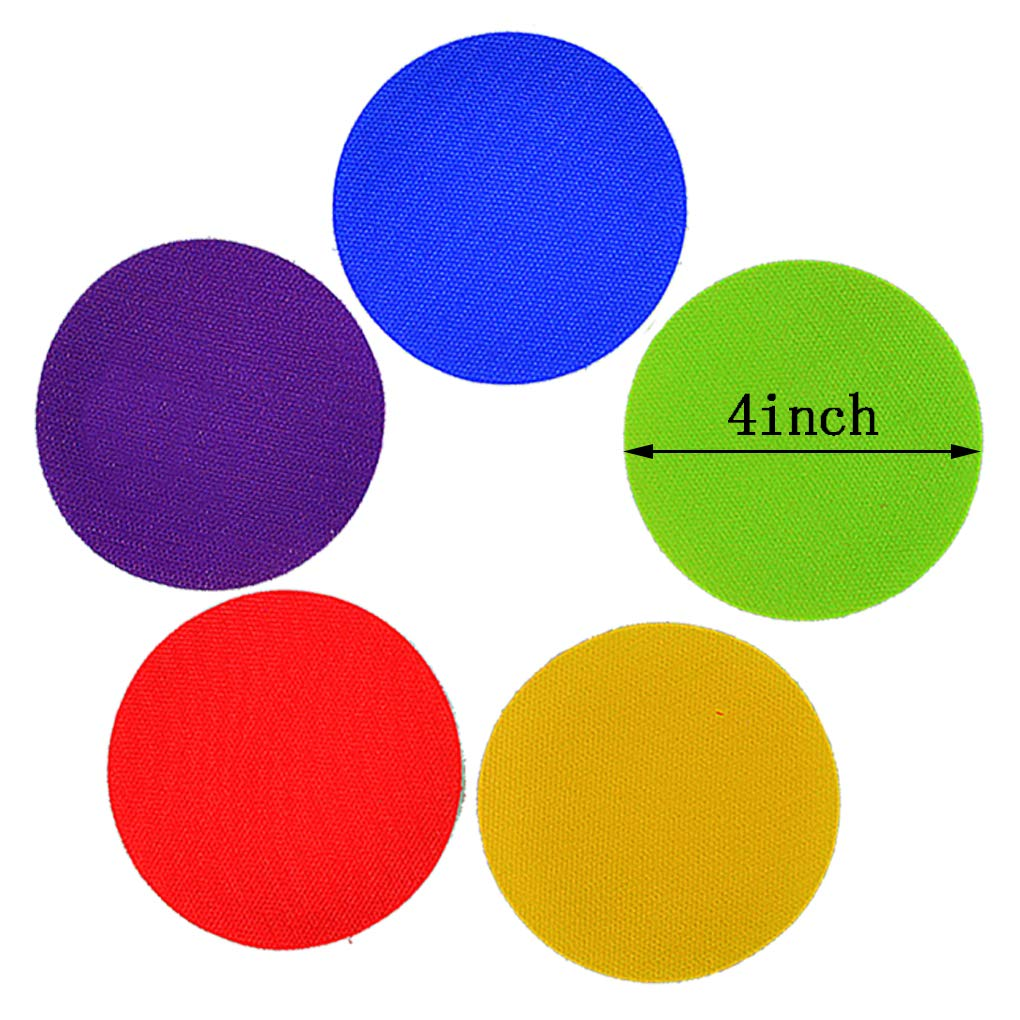 Lee-buty Sit Markers Educate for Carpet Markers for Teachers, Educators Set of 30 4\