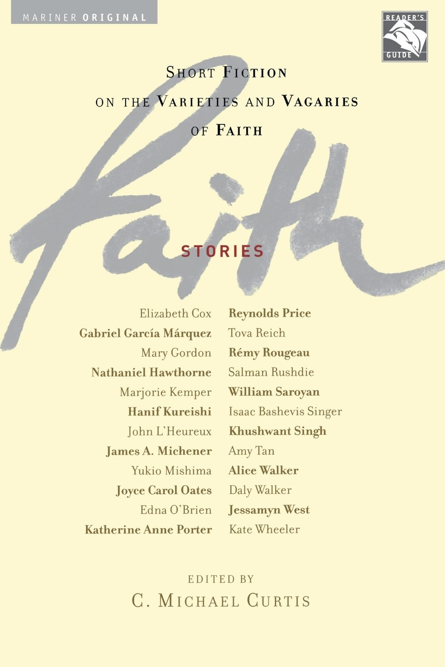Amazon com: Faith: Stories Pa (0046442378246): C  Michael