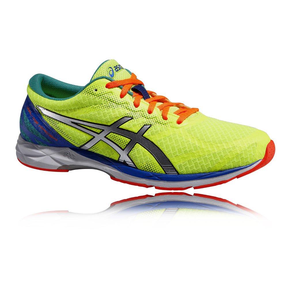 Asics Gel Ds Racer - Zapatillas de running para hombre, color Red/Light/Fl.Ye, talla 39 EU|Verde