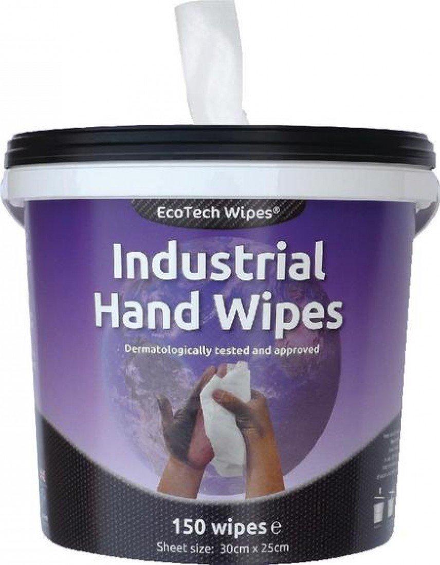 EcoTech EBMH150PK Industrial Hand Wipe (Pack of 150) Ecotech Europe Ltd ECO24044