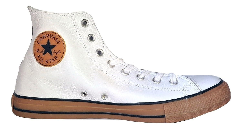 Converse Chuck Taylor Unisex Leather Sneaker (11 B(M) US Women / 9 D (M) US Men)