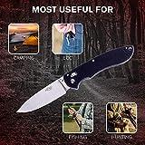Ganzo G740-GR Folding Pocket Knife 440C Stainless