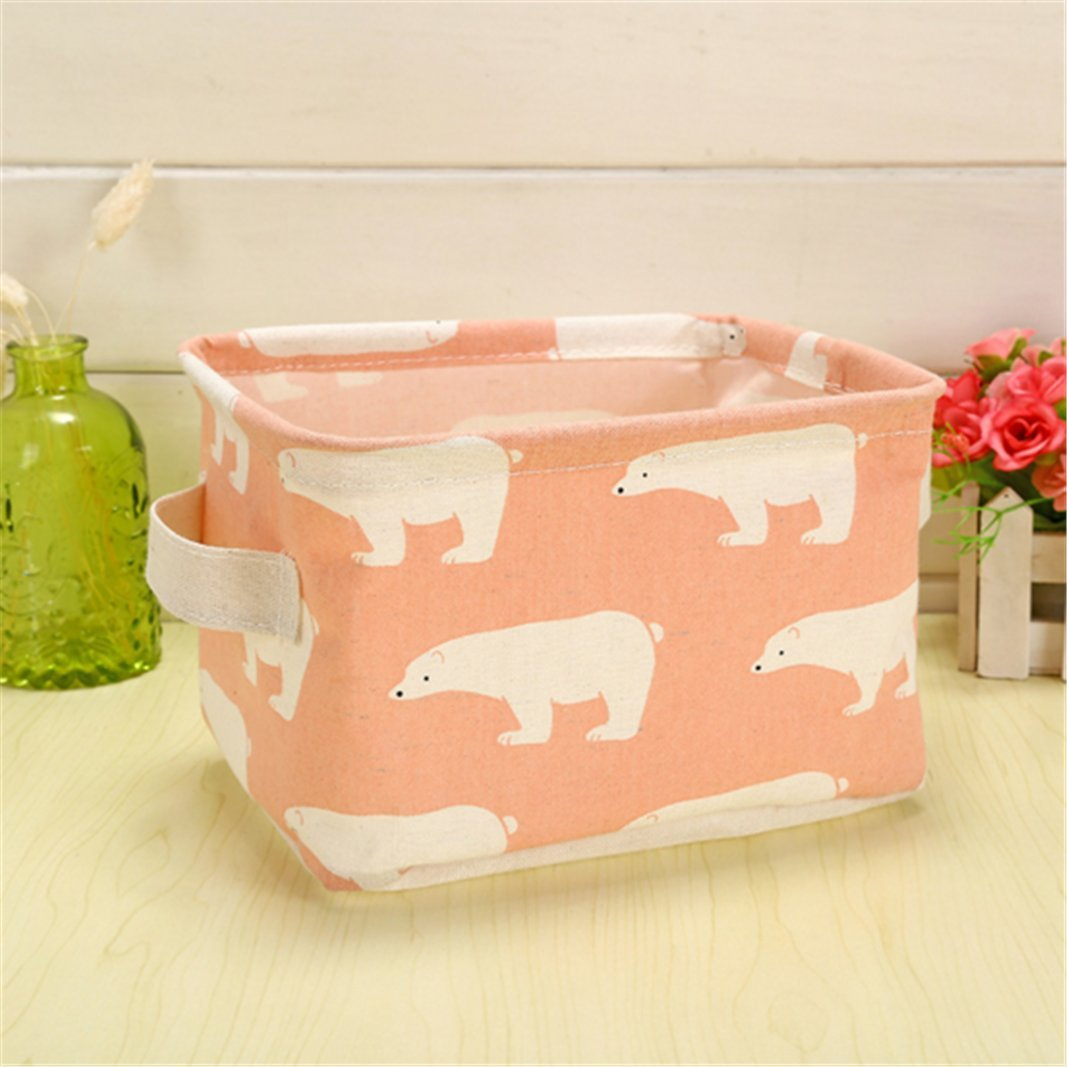 Aufbewahrungsbox Basket Cabinet Clothing Collection Kosmetikkorb f/ür Regale Schreibtische