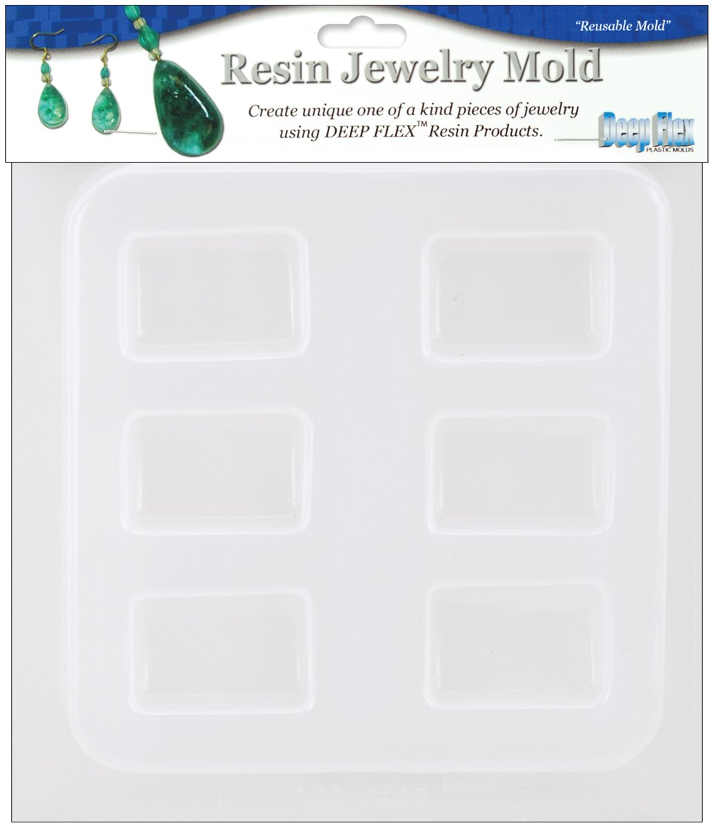 Yaley Resin Jewelry Mold, Multi-Colour, 18.41 x 17.52 x 1.65 cm 08-0566H