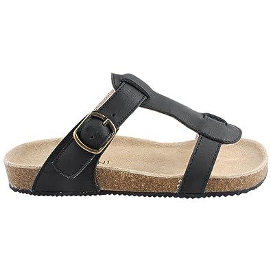 16d243e3cc571d Enfant 815133 Sandales Nu-Pieds Cuir - Fille -: Amazon.fr: Chaussures et  Sacs