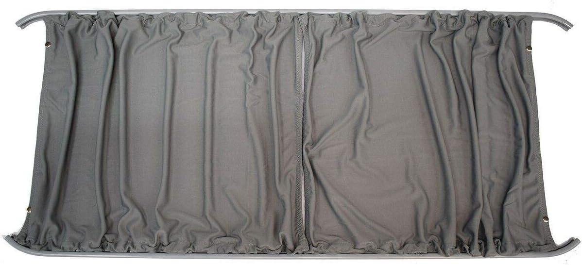 Cortinas gris a medida LH puerta corredera y RH Panel lateral Camper Van Kit de cortina para Mercedes Sprinter (06-17): Amazon.es: Coche y moto