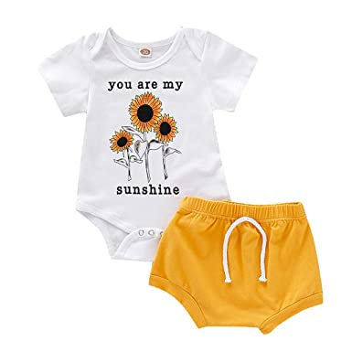 19d0f8db03033 Amazon.com: Summer Casual Kids Outfits for Boys Girls You are My ...