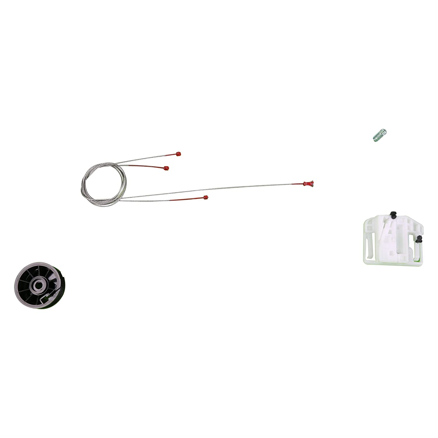 Amazon.com: Bross BWR272 Window Regulator Repair Kit Rear Left Door for Renault Megane 2 2002-2008: Automotive