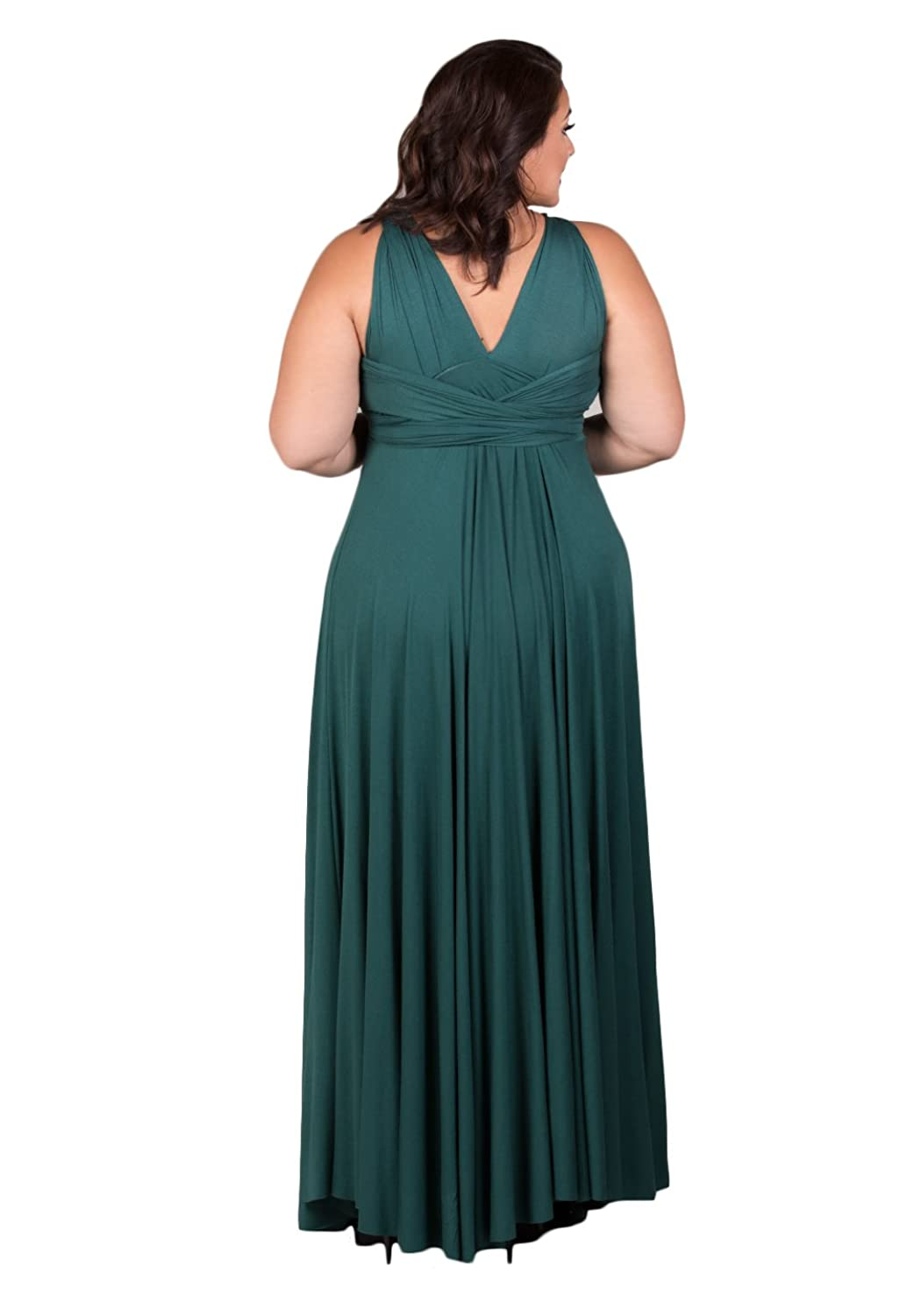Amazon.com: SWAK Womens Plus Size Eternity Maxi Convertible Dress: Clothing