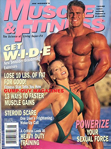 Joe Weider's MUSCLE & FITNESS May 1996 Magazine HEAVY DUTY? WHY MIKE MENTZER'S TRAINING METHODS MAY NOT BE FOR YOU Mike Francois, '95 Arnold Classic Champion LARRY SCOTT TIPS
