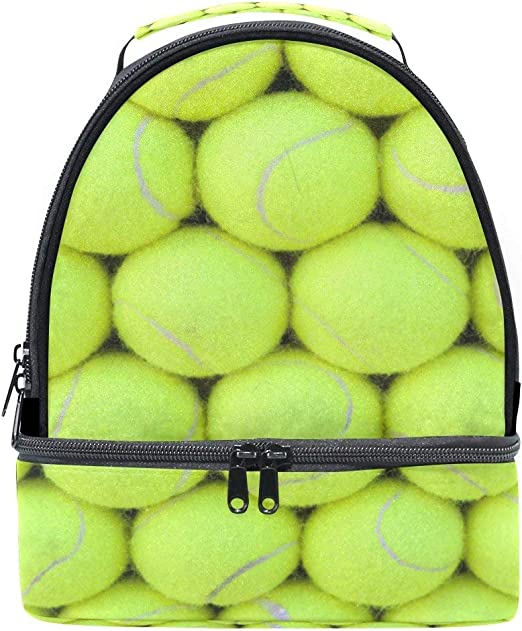 Fiambrera Bolsa Vintage Tenis Pelota Deporte Hombro portátil Bolso ...