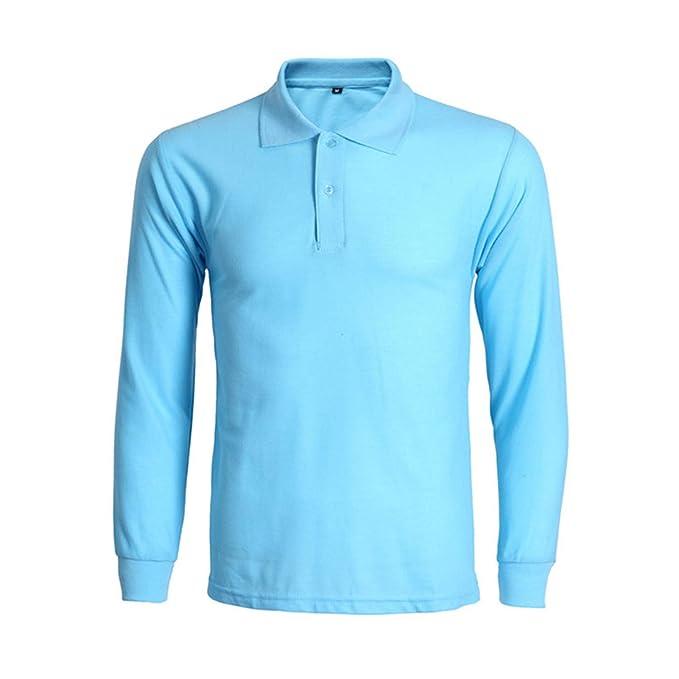 Hombre Polos Camisa Polo de Moda Hombre Polo para Hombre Hombre ...