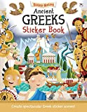 img - for Ancient Greeks Sticker Book: Create spectacular Greek sticker scenes! (Sticker History) book / textbook / text book