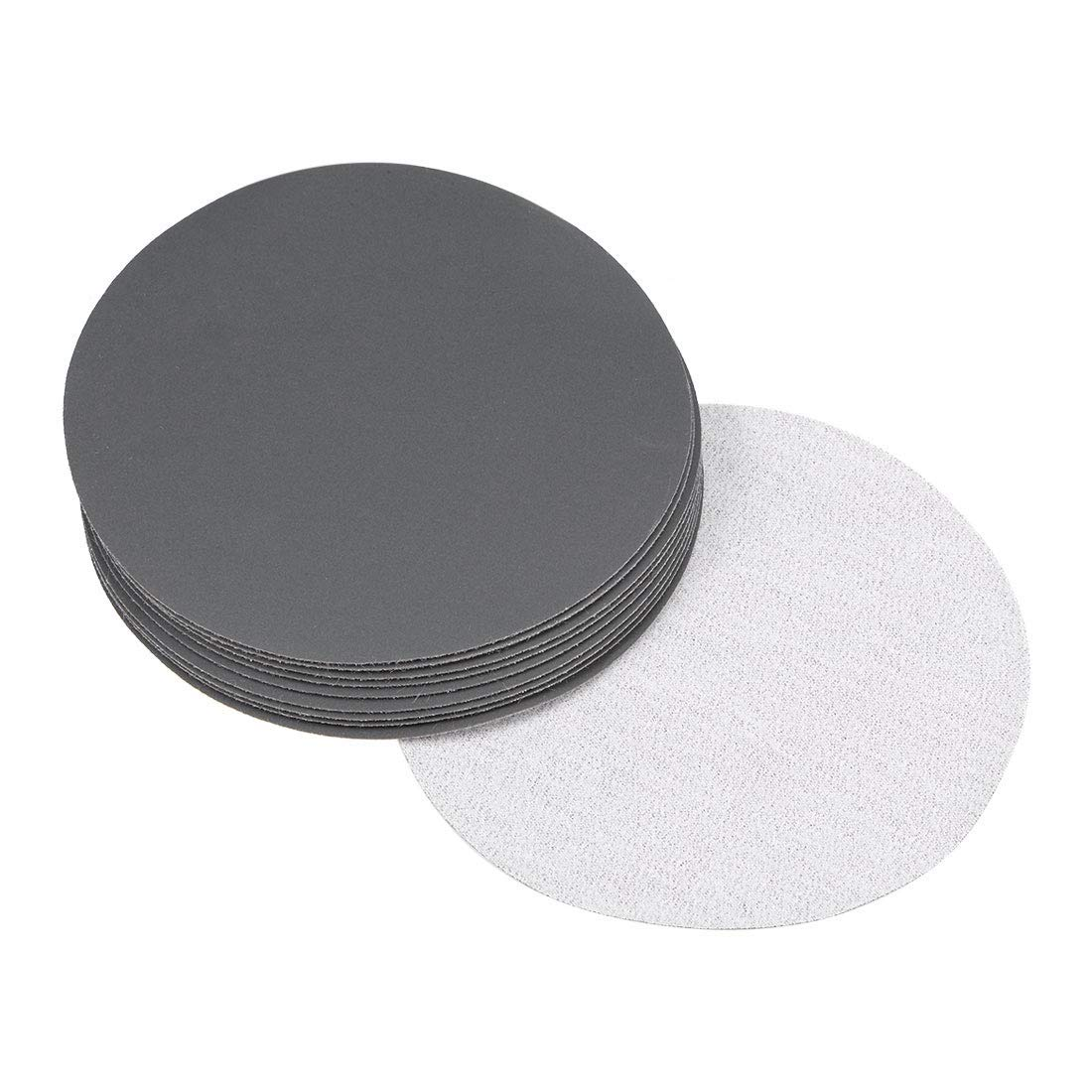 5-inch dry and wet sanding discs Sanding disc with 800 hooks and loops Silicon carbide sandpaper 10 pieces