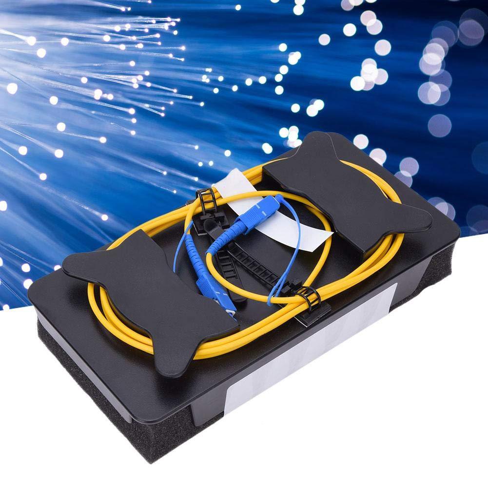 Caja de cable de lanzamiento OTDR de fibra /óptica probador de fibra Fusion Splicer Herramientas de fibra /óptica Probador de cable de fibra /óptica SC//UPC-SC//UPC Eliminador de zona muerta OTDR Modo /úni