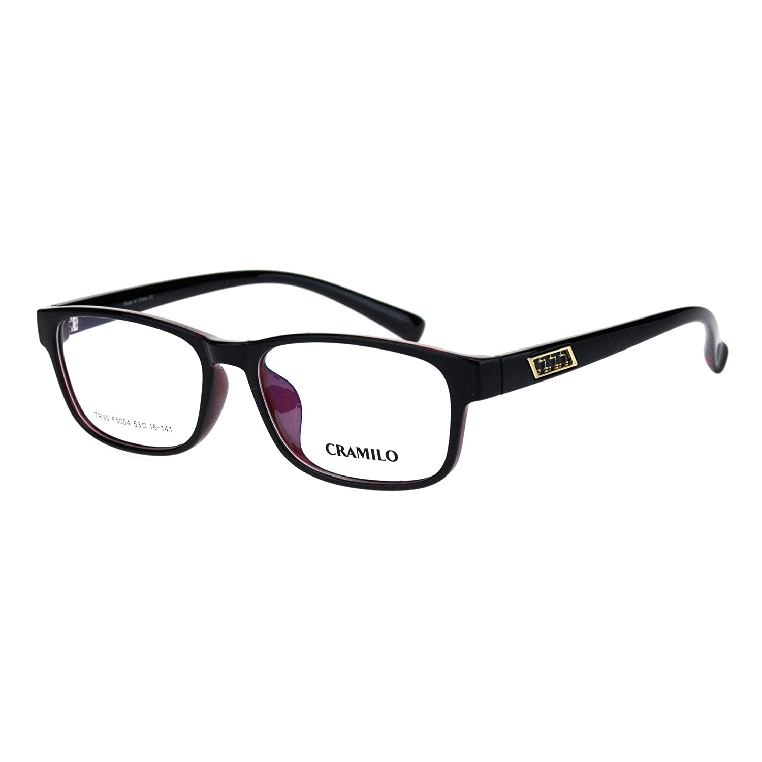 Luxury Designer Style Crushproof TR90 Plastic Frame Optical Eye Glasses
