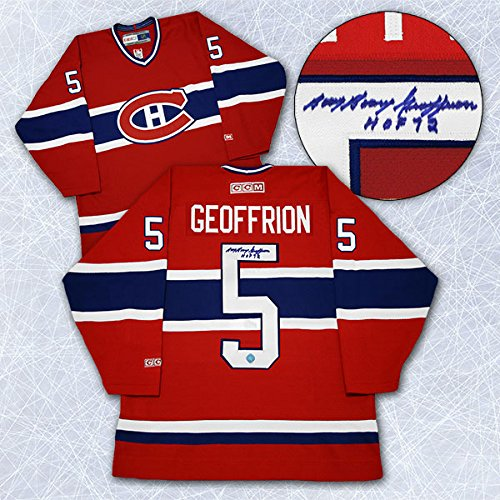 Bernie-Boom-Boom-Geoffrion-Montreal-Canadiens-Autographed-Retro-CCM-Jersey