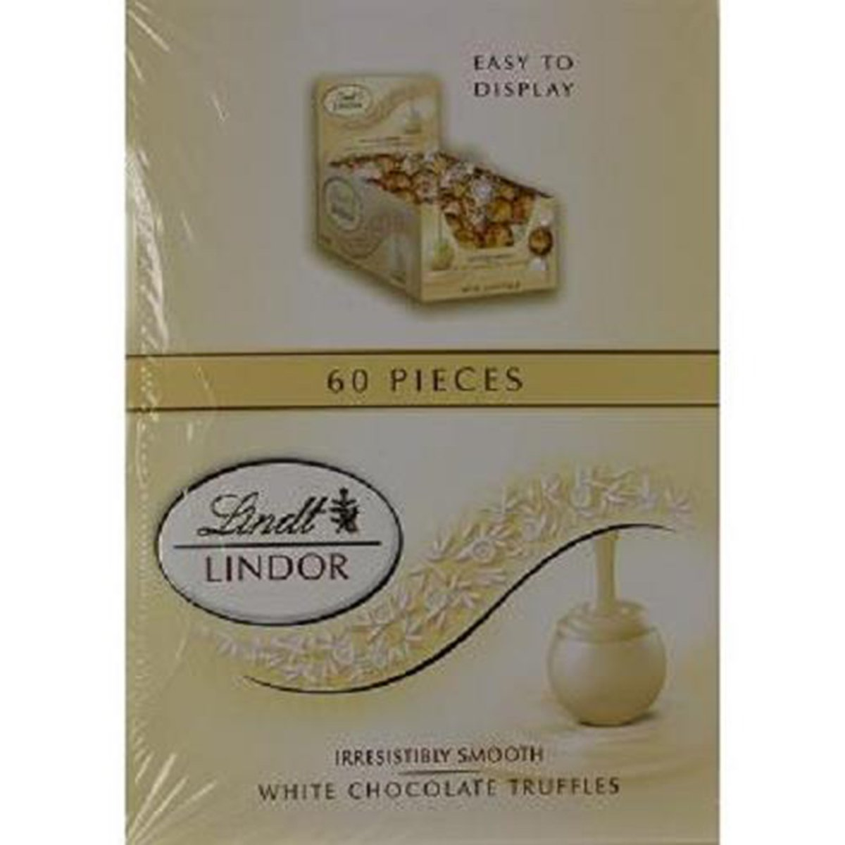 Product Of Lindt Lindor, White Chocolate Truffles, Count 60 - Chocolate Candy / Grab Varieties & Flavors