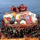 Yuletide Treasures Gourmet Holiday Gift Basket - Heartwarming Treasures