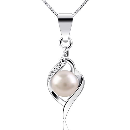 92a593eb1 B.Catcher Silver Pendants Pearl 925 Sterling Silver Twist Jewellery
