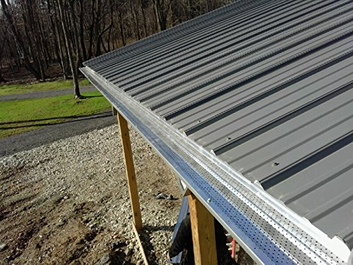 A-M Aluminum Gutter Guard 6'' - 50 feet by A-M Gutter Guard (Image #5)