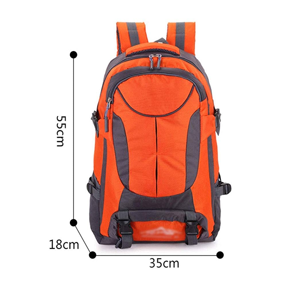 FANQIECHAODAN Nylon Travel Backpack Large Capacity Backpack Breathable and Wear Resistant Rucksack for Camping Hiking Traveling