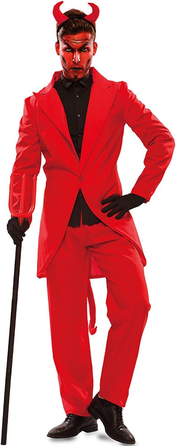 Disfraz de Demonio Elegante para hombre: Amazon.es: Juguetes y juegos