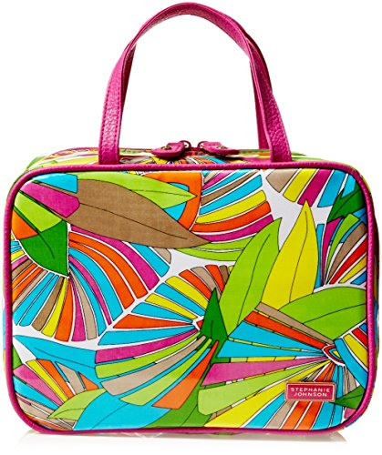 Stephanie Johnson ML Traveler Cosmetic Case, South Beach Multi