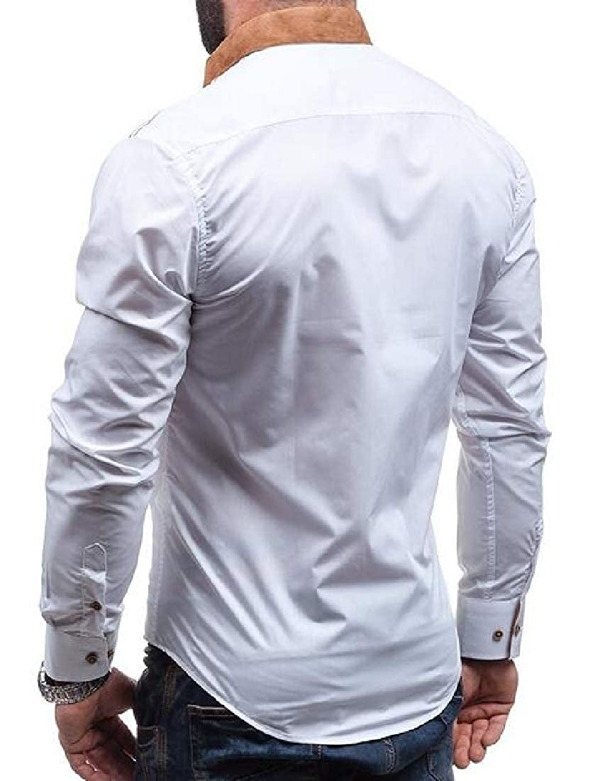 Sweatwater Mens Long-Sleeve Classic Fit Fashion Button Up Shirts