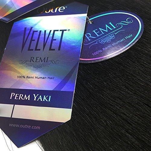 - Velvet Remi Human Hair Weave - PERM YAKI WEAVING (10