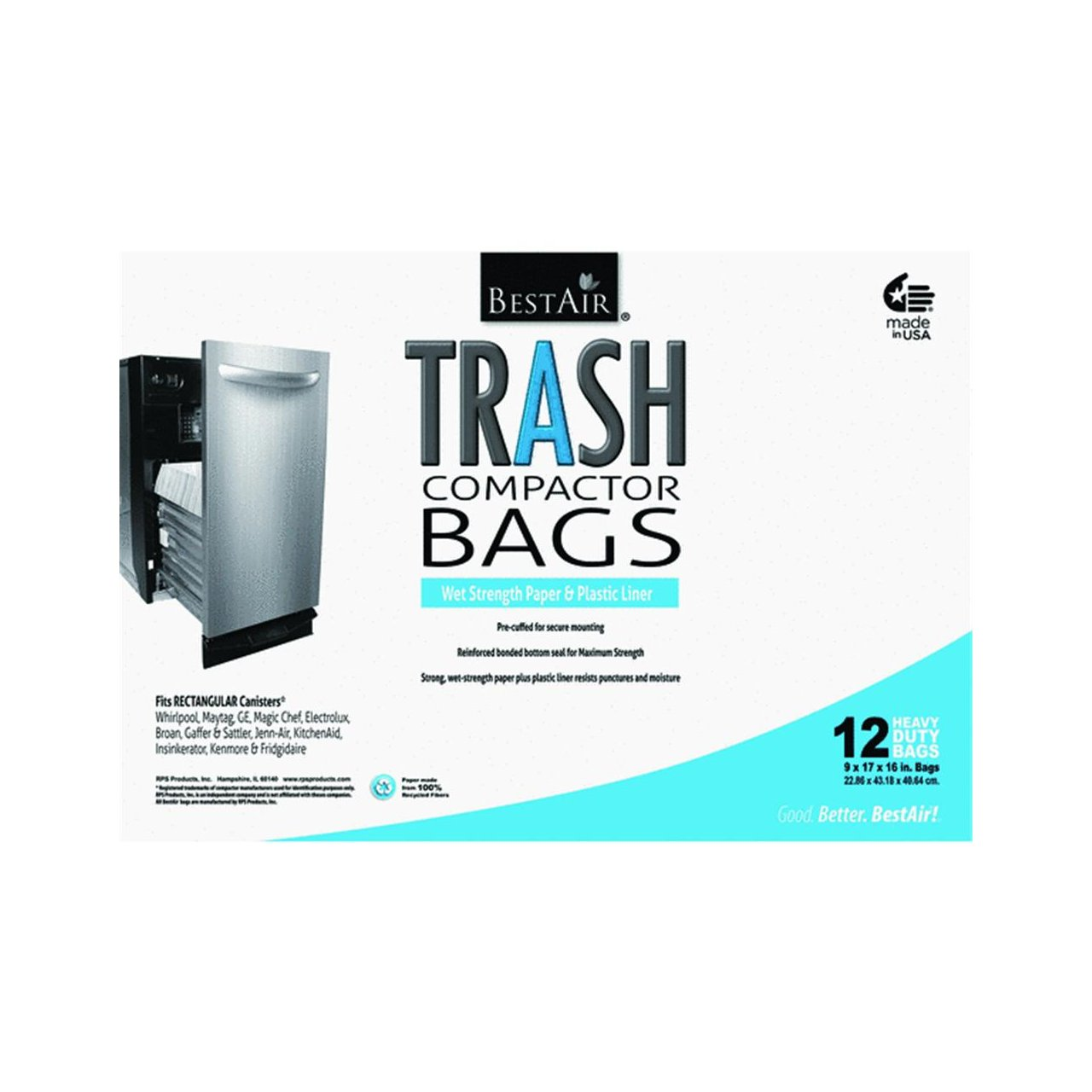 How Does A Trash Compactor Work Amazoncom Kitchen Master Compactor Bag Home Kitchen