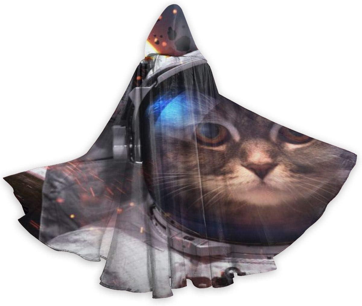 UKBUY Disfraz de Astronauta de Gato Valiente en el Espacio, Capa ...