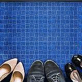 Doortex Ribmat, Indoor Entrance Mat, Blue, 36' x 48' (FRECOR3648BL)