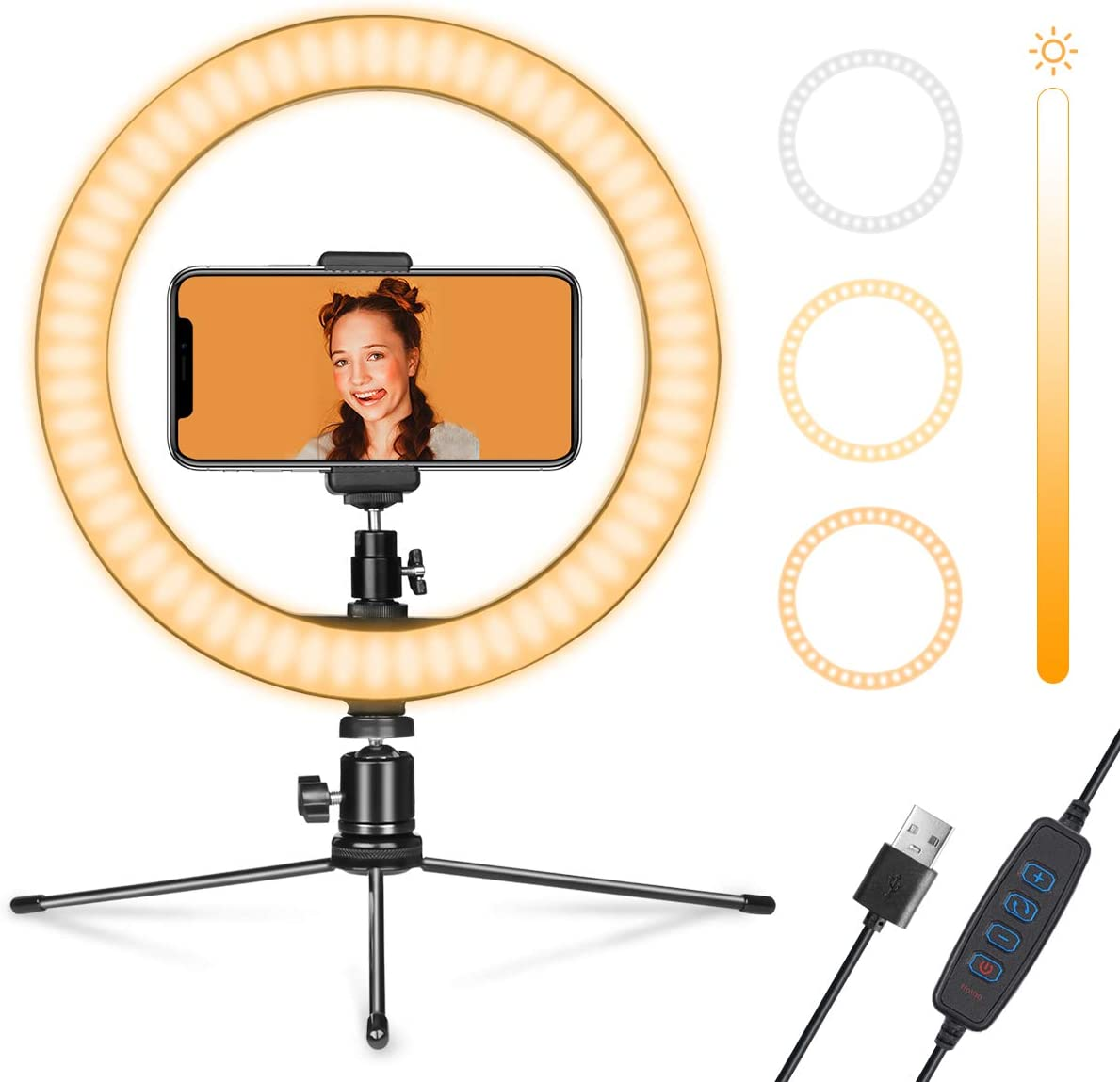 50% Off Coupon – Ring Light With Stand and Phone Holder